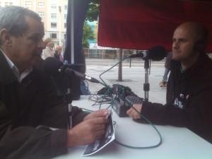 Entrevista al Delegado en Radio Topo