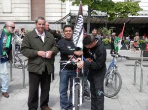 Bicicletada Abdu y Yumani