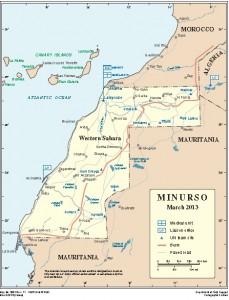MINURSO MAP