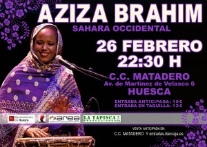 Aziza Brahim Performs At Sahara Soul