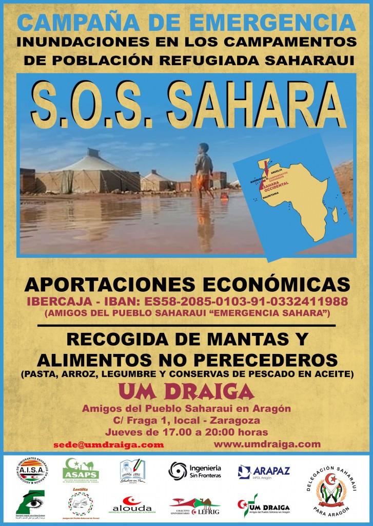 CARTEL SOS_SAHARA Um Draiga R A4
